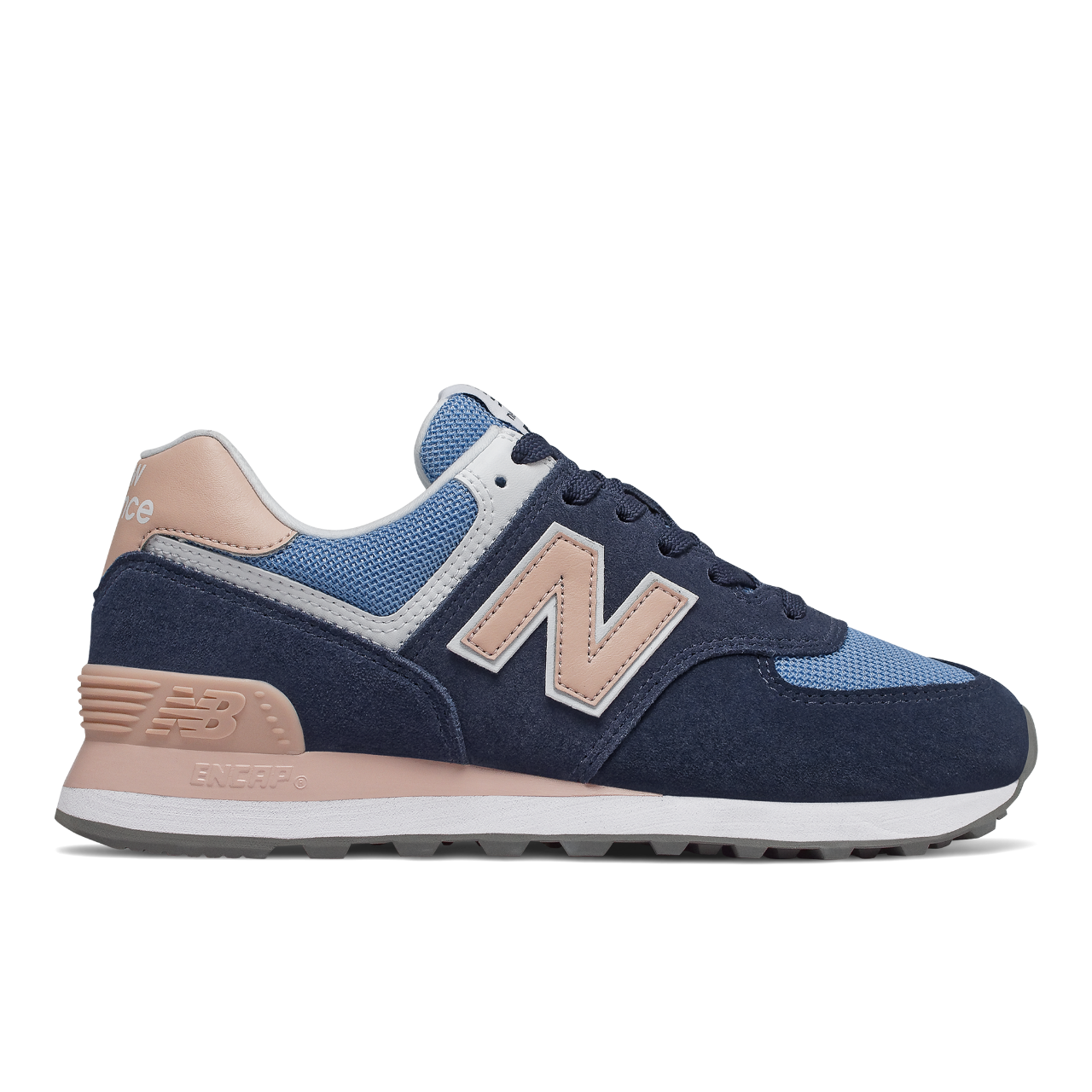 finest selection a8767 1ed93 New Balance 574 WND-Sneaker damen blau rosa